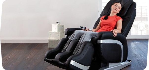 Применение массажного кресла