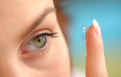 Выбор контактных цветных линз