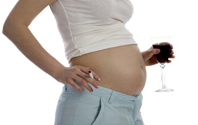 Вредные привычки и беременность
