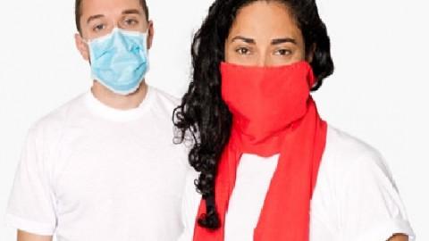 Бруклинские дизайнеры изобрели шарф, защищающий от гриппа
