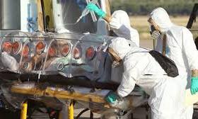 Россия доставила в Западную Африку госпиталь для лечения инфицированных лихорадкой Эбола