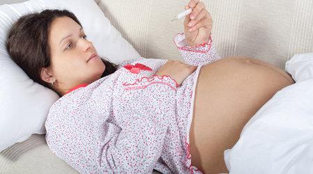 Как бороться с гриппом и простудой во время беременности