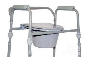 Предметы быта для инвалидов. Стул-туалет