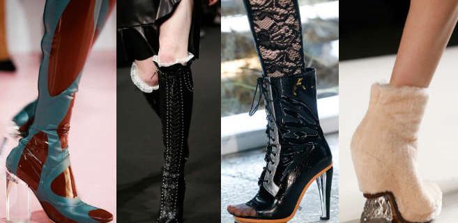 Модная женская обувь сезона осень–зима 2015 – 2016