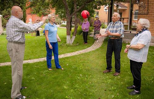 В чем преимущества дома престарелых