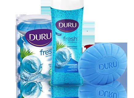 Начни свой день с мылом Duru