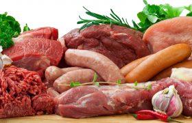 Обработка мяса спреем из вирусов