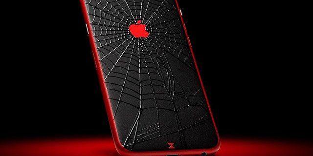 Виниловые наклейки на iPhone 6.