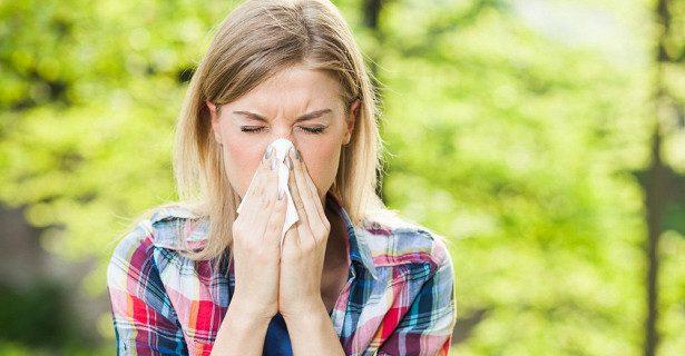 Полет пыльцы: аллергия на вдохе