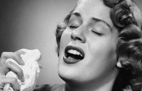 Почему при насморке не следует пользоваться бумажными платками
