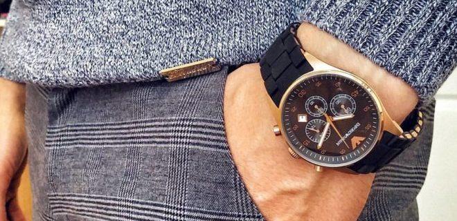 Модные мужские наручные часы 2019