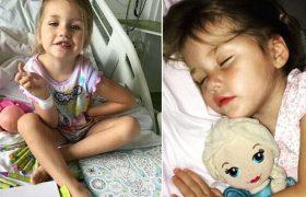 Из-за ветрянки у трехлетней девочки произошел инсульт