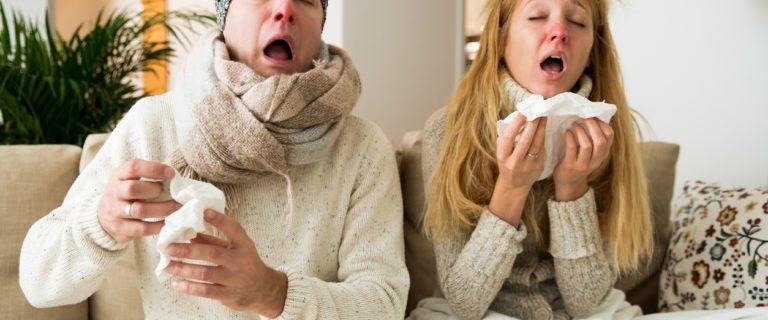 7 симптомов, которые отличают простуду от гриппа