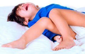 Судороги при высокой температуре у ребенка