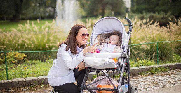 Летние прогулки с ребенком