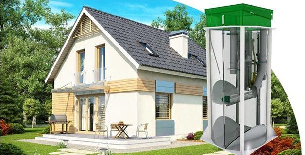 Септик — оптимальное решение для загородного дома