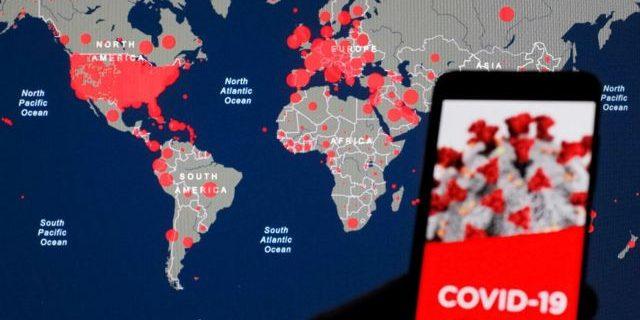 Во всем мире растет число заболевших COVID-19